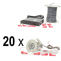 Recessed 20-Light System Kit