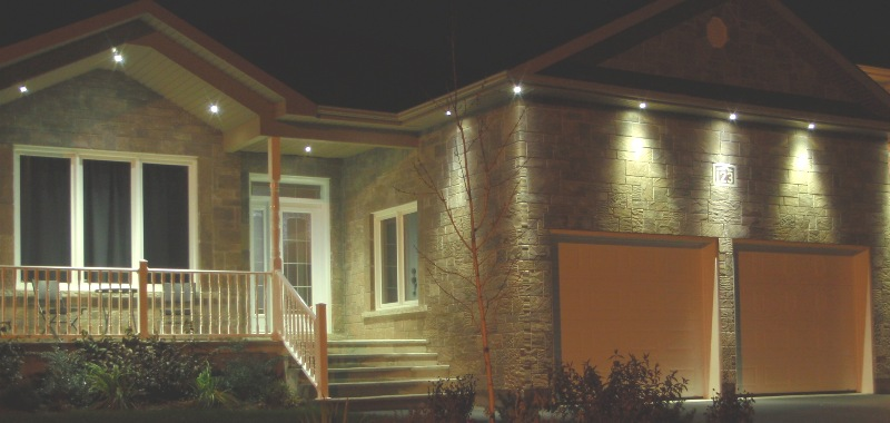 Delphitech residential outdoor led lights revolutionary design amazing results durability - Exterior led lights for homes ...