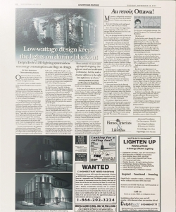 DelphiTech LED - Ottawa Citizen - September 2003